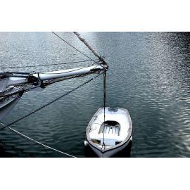 DECKERS Youyou au Vieux-Bassin d'Honfleur, tirage A5 numéroté et signé