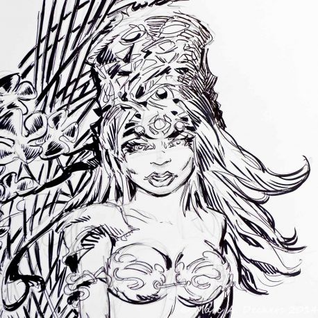 SAUVION dessin original A4 n° 3