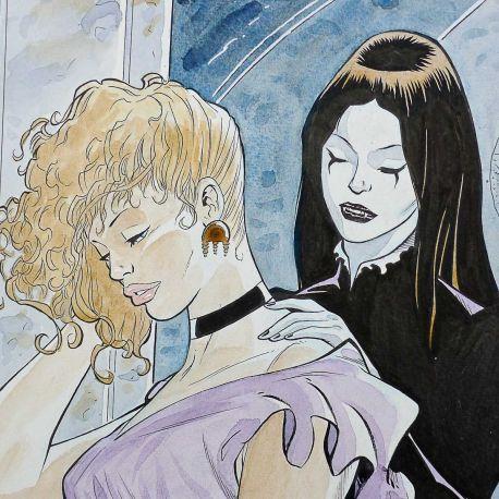 GODEAU dessin original A3 couleur n° 1