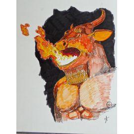 TORTON La Fresque biblique 6 EO + dédicace 1