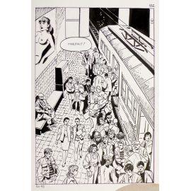 DURAN ( Elvifrance ) planche originale 91-98