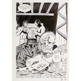APARICI ( Elvifrance ) planche originale 38-189