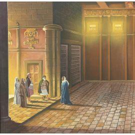 TORTON La Fresque biblique original 455 Judas et les prêtres (tome 9 page 1251)