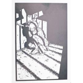 ALARY Belladonne ex-libris en cage n et s 250 ex