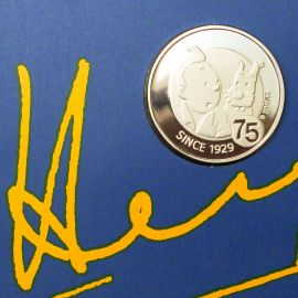 HERGE Pièce Tintin 10 € 1929-2004