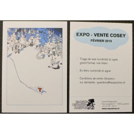 COSEY invitation expo Raspoutine 2015