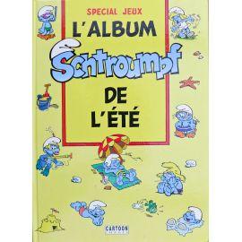 PEYO Les Schtroumpfs L'album de l'été Jeux 1991