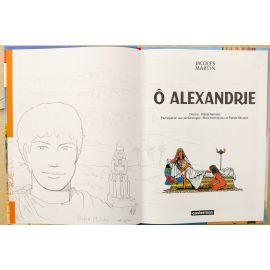 MORALES Alix Ô Alexandrie EO + dédicace 1