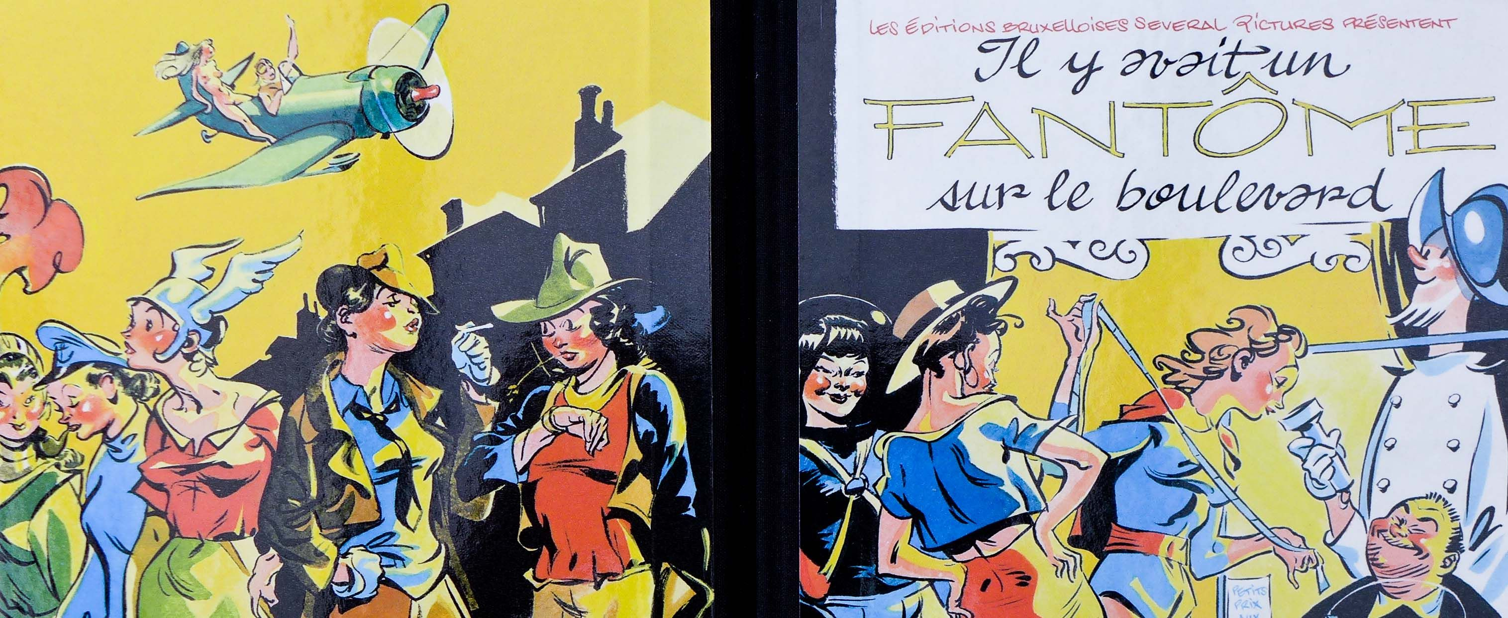 Alec SEVERIN et l'aventure du Fantôme Espagnol, librairie BD à Bruxelles