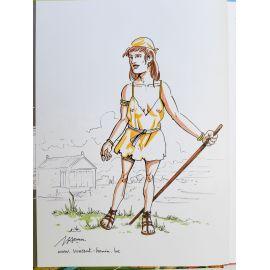 HENIN Voyage d'Alix Lutèce ré + dédicace 21