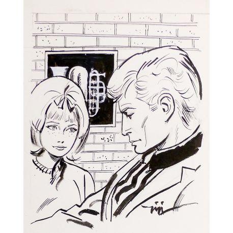 GIGI Fillette dessin original 7/1