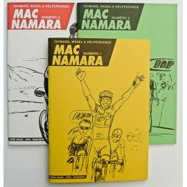 TAYMANS Mac Namara lot 3 carnets Tour de France