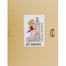 DI SANO Portfolio Hommage à Brassens Editions Point Image