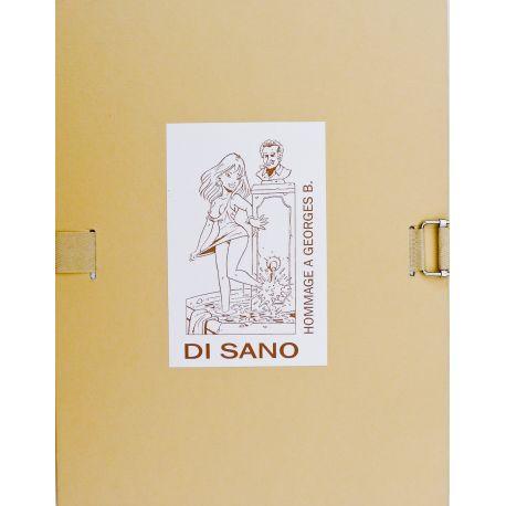 DI SANO Portfolio Hommage à Brassens Editions Point Image (bis)