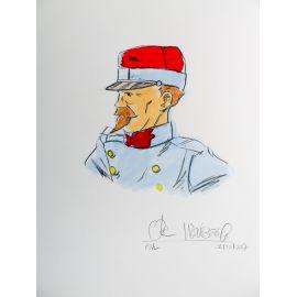 WEINBERG O. Lefranc Les Batailles de Moselle + dédicace 18