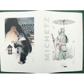 MICHETZ dédicacé Fantaisies TT 25 ex ne et s Editions du Fugu 2018 + 3 ex-libris jaquette