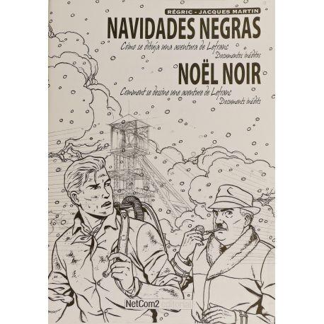 REGRIC Navidades Negras crayonnés Lefranc Noël noir