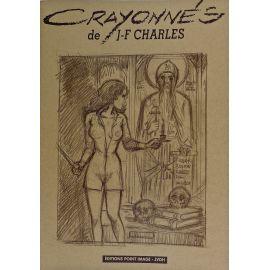 """CHARLES Crayonnés carnet Point Image """"Météores"""""""