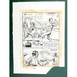RAPETTI ( Elvifrance ) Effleure-moi (Les Drôlesses 47) planche originale 47-91