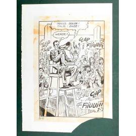 RAPETTI ( Elvifrance ) Effleure-moi (Les Drôlesses 47) planche originale 47-93