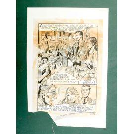 RAPETTI ( Elvifrance ) Effleure-moi (Les Drôlesses 47) planche originale 47-94