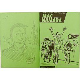TAYMANS Mac Namara carnet Tour de France vert + dédicace p3