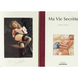 DUPRE Ma Vie Secrète (coll. L'index) TL 50 ex avec photo