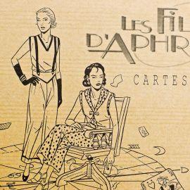 TAYMANS Les Filles d'Aphrodite Cartes sur table