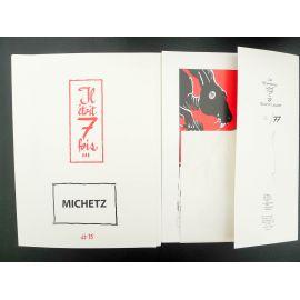 MICHETZ portfolio Il était 7 fois TL 77 ex n° 15 BIFF