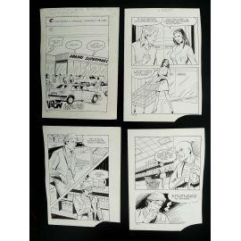 GABAGLIO Hold-up sanglant (Histoires noires 137) récit complet 76 planches et livre
