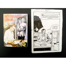 TODARO Message codé (Histoires noires 132) récit complet 112 planches livre
