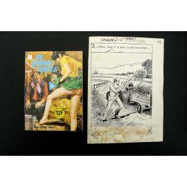 GABAGLIO Un homme simple (Série Grise 7) récit complet 92 pl et livre