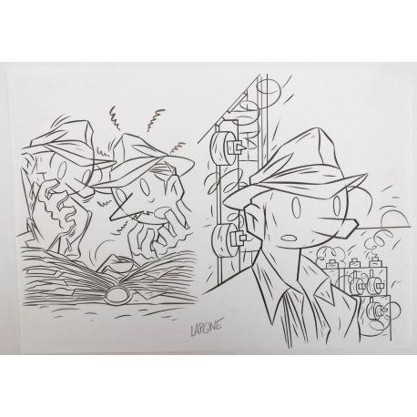 LAPONE A.D.A. dessin original 6