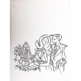 LAPONE A.D.A. dessin original 8
