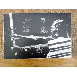 GIGI copie expo Affiche The art of Robert Gigi Samourai Ugaki