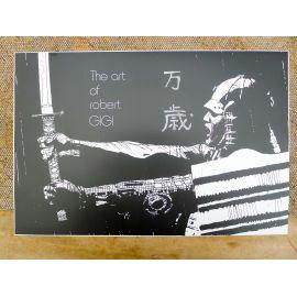 GIGI copie expo Affiche The art of Robert Gigi Samourai Ugaki (état BE)