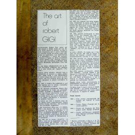 GIGI copie expo The art of Robert Gigi panneau explicatif italien
