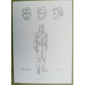 OLIVIER Cor dessin préparatoire A4 n° 4