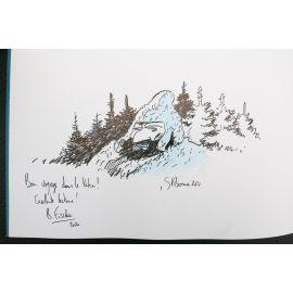 STIBANE Jack LONDON Silence blanc TL 500 ex + dédicace 1 (+ marque-page)