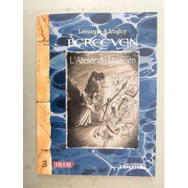 LUGUY Percevan Les Carnets de L'Aventure 3 + carte postale bonus (L'atelier du magicien)
