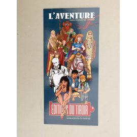 WALTHERY TAYMANS WARNANT etc marque-page L'Aventure