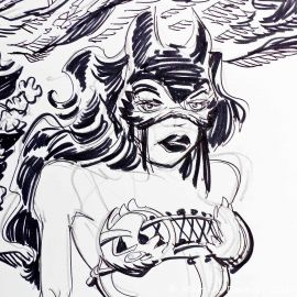 SAUVION dessin original A4 n° 9