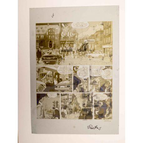 WALTHERY Natacha Le grand pari wallon plaque d'imprimerie 3