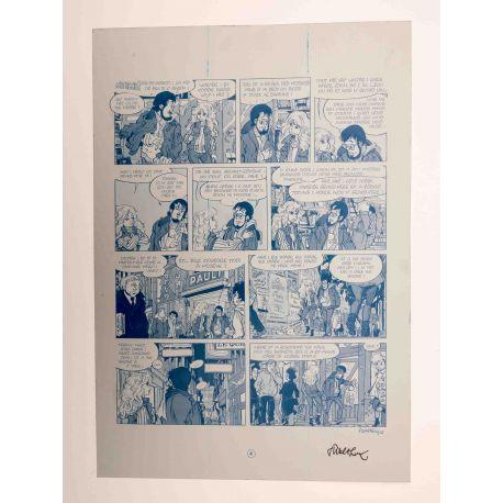 WALTHERY Natacha Le grand pari wallon plaque d'imprimerie 4