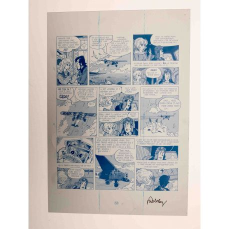 WALTHERY Natacha Le grand pari wallon plaque d'imprimerie 12