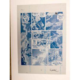 WALTHERY Natacha Le grand pari wallon plaque d'imprimerie 41 cyan