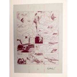 WALTHERY Natacha Le grand pari wallon plaque d'imprimerie 54 magenta