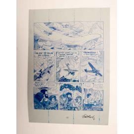 WALTHERY Natacha Le grand pari wallon plaque d'imprimerie 57 cyan