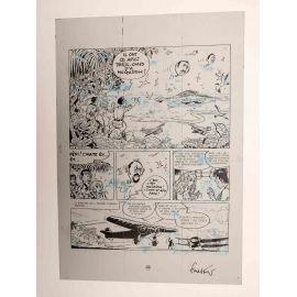 WALTHERY Natacha Le grand pari wallon plaque d'imprimerie 65
