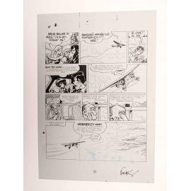 WALTHERY Natacha Le grand pari wallon plaque d'imprimerie 68